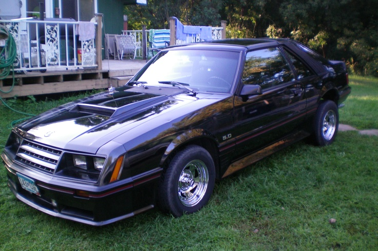 i own a 1982 ford mustang g t 5 0 kaela breezee pinterest cars first car and back in black. Black Bedroom Furniture Sets. Home Design Ideas