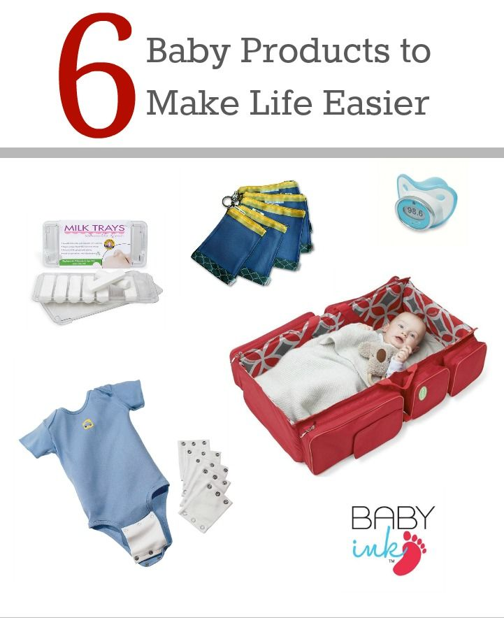 6 Baby Products to Make Life Easier- yes to the milk trays and the onesie extenders- everything else I wouldn't bother with.