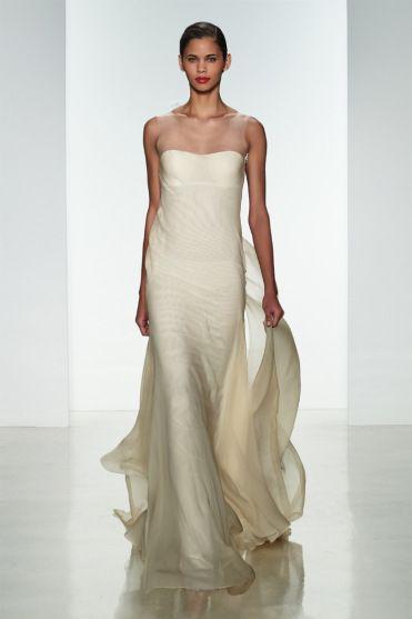 vestido de noiva Amsale primavera 2015 - modelo jade bronze