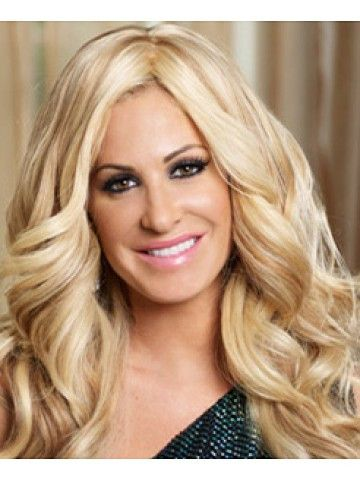 Kim Zolciak Blonde Lady Wig