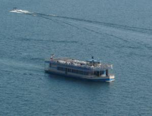 Lake Coeur d'Alene Cruise Boat - Lake Coeur d'Alene Cruise Boat ©Angela M. Brown 2009