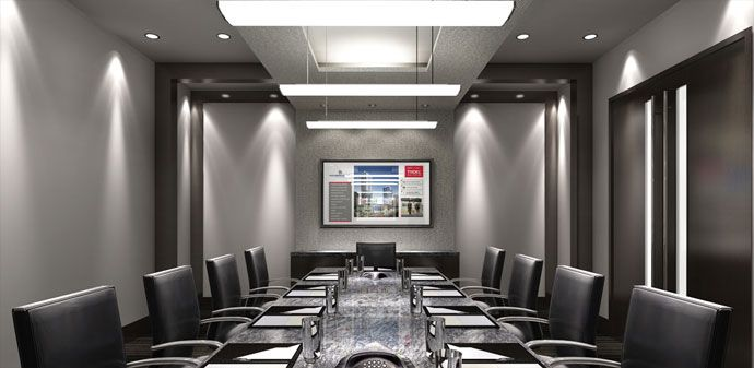 The Shared Amenities Such As The Corporate Boardroom At