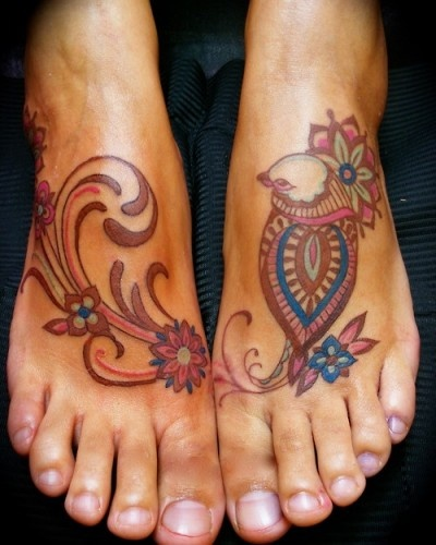 Love the colors in this tat | Tattoo Ideas Central