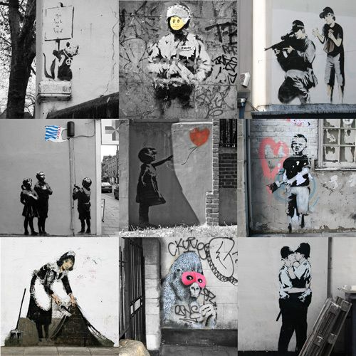 Banksy - Collage II by Banksy - art print from King & McGaw