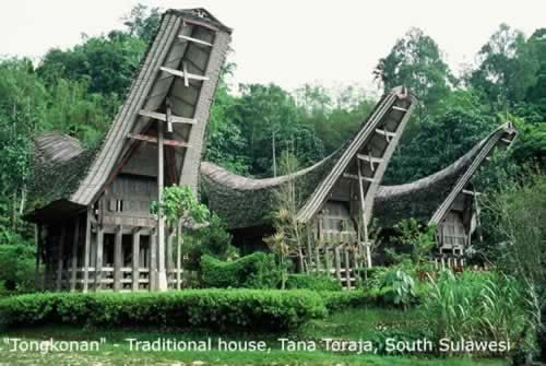 Sulawesi Traditional House