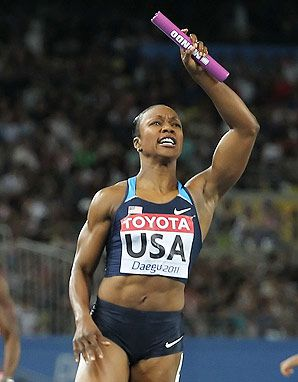 Carmelita Jeter - can't wait until Track & Field starts!