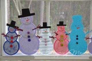 Homemade Craft Ideas | Make Snowmen Indoors! Great Paper Craft for Kids
