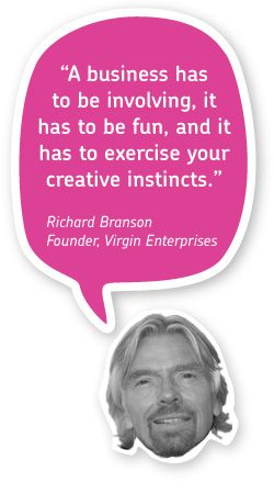 Richard Branson_a business has to be invoving