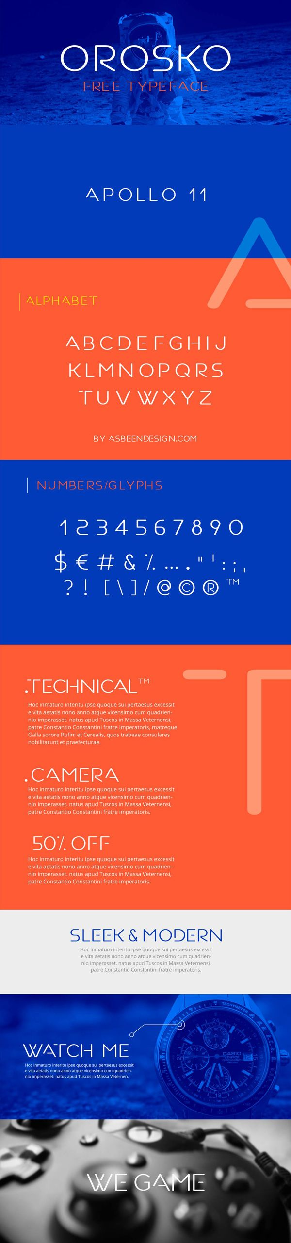 Orosko Typeface - Free Download