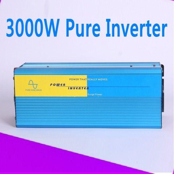 3000W Inversor de onda sinusoidal 12 volt 24 volt 48 volt home inverter 3000W pure sine wave inverter