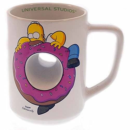 Exclusive Universal Studios The Simpsons Ride : Homer Simpson Doughnut Ceramic Coffee Cup Mug http://order.sale/mBBd (via Amazon)