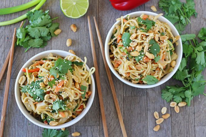 Satay Vegetable Noodles | Easy 5 Minute Meal - My Fussy Eater