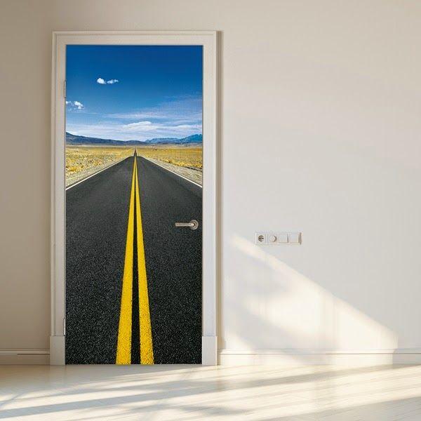 1000 images about decorar las puertas con fotomurales on - Fotomurales para puertas ...