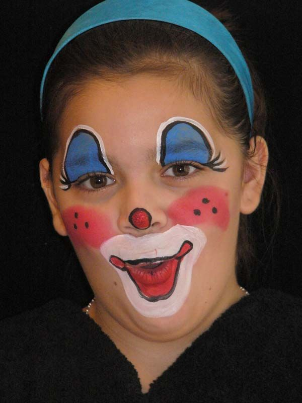 Clown Faces | Face Painting Extravaganza | Face painting ...