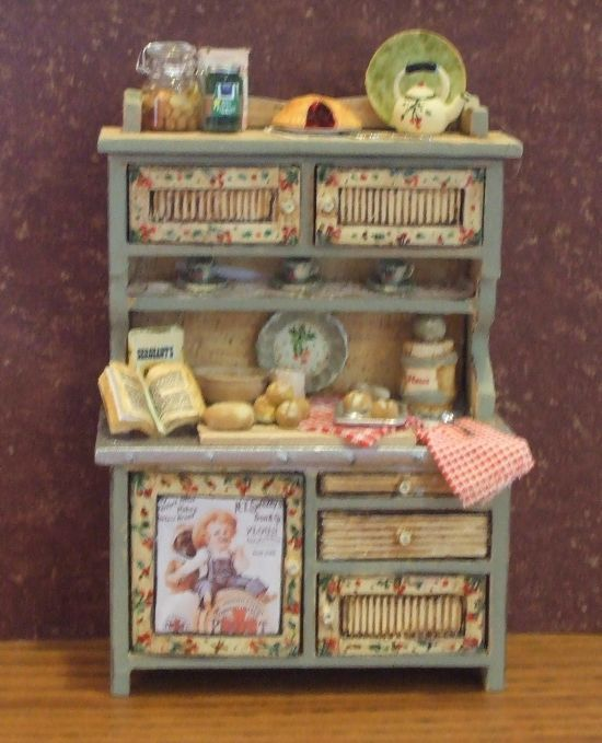 kitchen furniture hutch. perfect idea for the fairy house kitchen furniture hutch