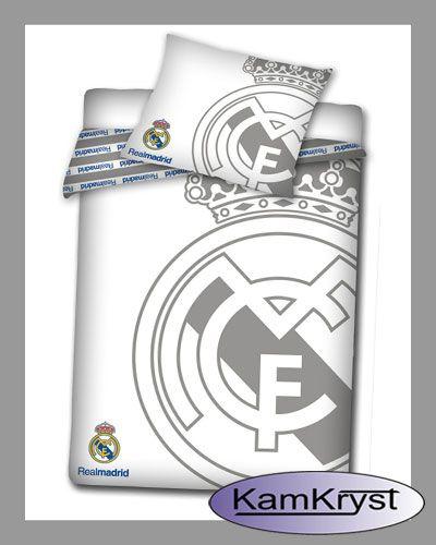 Bedding Real Madrid White   Pościel Real Madrid White #real_madrid #real_bedding #Ronaldo_bedding