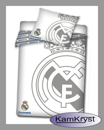 Bedding Real Madrid White | Pościel Real Madrid White #real_madrid #real_bedding #Ronaldo_bedding