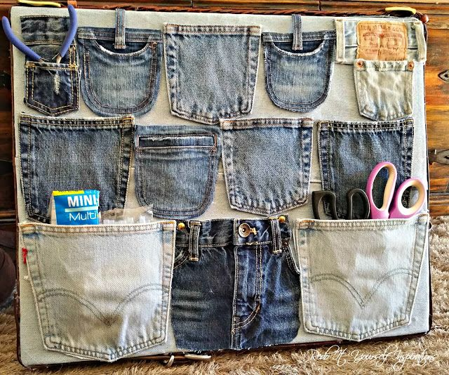 25 Amazing Things To Make With Old Jeans