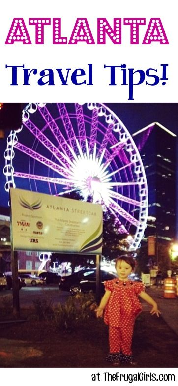34 Fun Things to See and Do in Atlanta! {if you're planning a vacation or day trip to Atlanta, Georgia you'll LOVE these insider travel tips!} #thefrugalgirls
