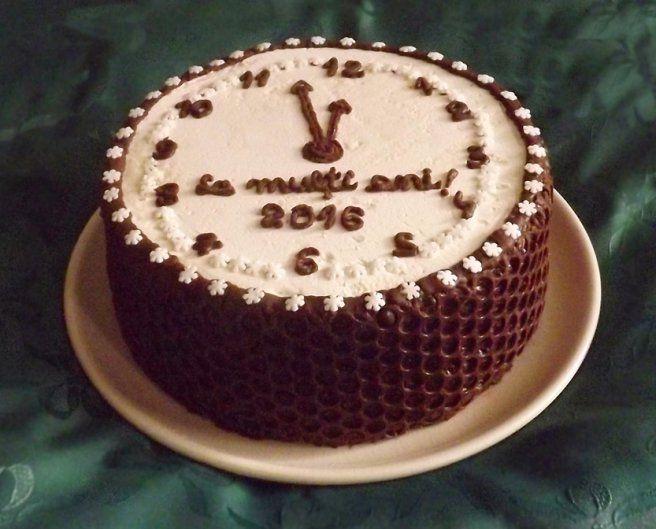 Tort ciocolatos (pentru Anul Nou)