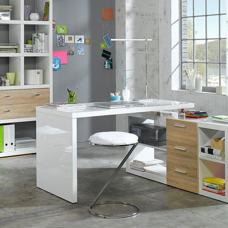 ber ideen zu winkelschreibtisch auf pinterest schreibtisch buche expedit. Black Bedroom Furniture Sets. Home Design Ideas