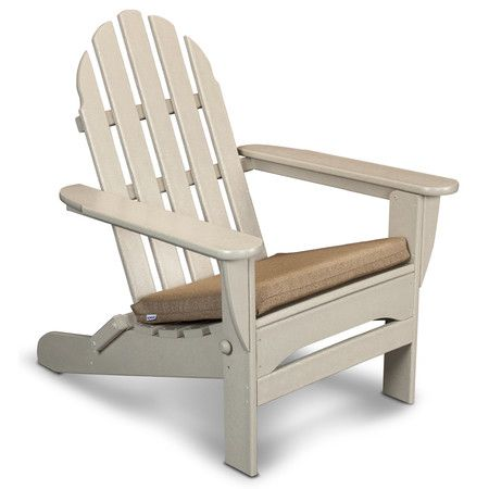 I realllly like this chair, but don't really want to spend that much - Adirondack Chair in Sand with Sesame Cushion