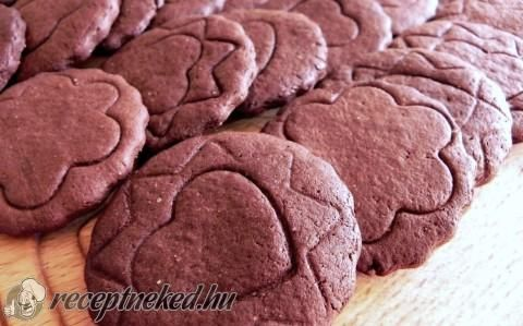 Csokis-gyömbéres keksz recept fotóval