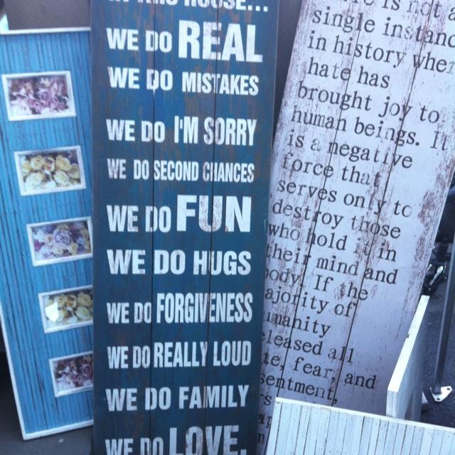 Wise words at Bondi market