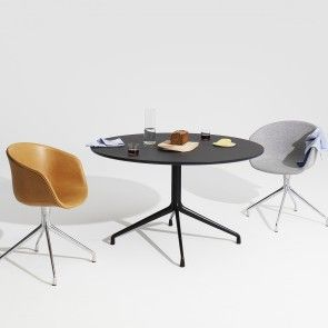 About a Table tafel Hay AAT20 Ø80 zwart | Musthaves verzendt gratis