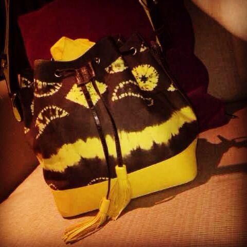 beautiful Indonesian Sasirangan bag by ENDE