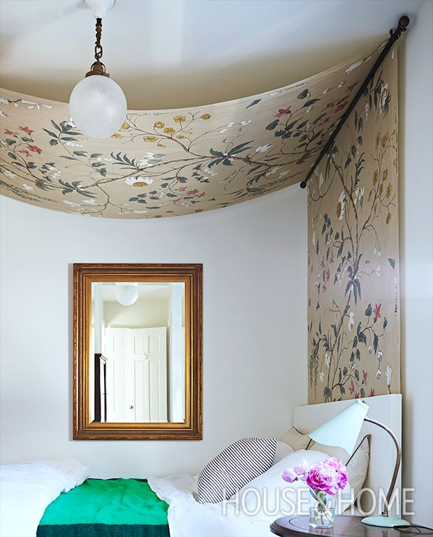 17 best ideas about Curtain Rod Canopy on Pinterest | Bed curtains ...
