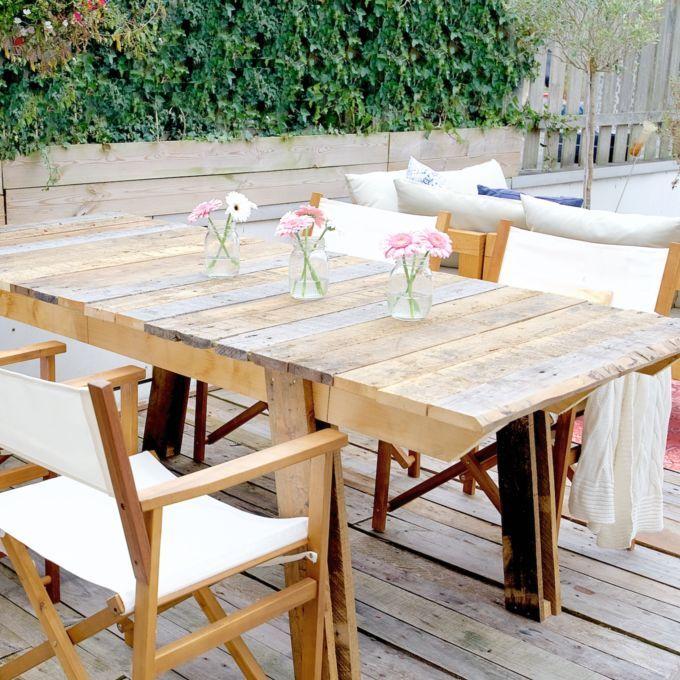 Maak een tuintafel in één middag • A Cup of Life