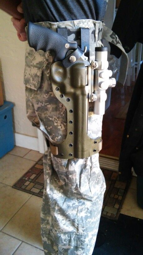 Tactical Scoped Revolver Holster