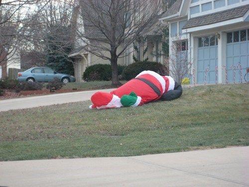..... war wohl 'n harter tag für santa.....  ;-)