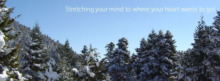 Stretching your mind to where your heart wants to go! #HappyDecember #ChristmasCountown