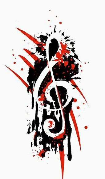 Image result for trash polka music tattoo