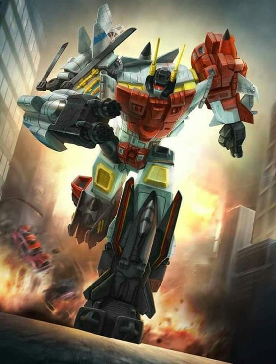 Autobot Superion G1 Artwork From Transformers Legends Game