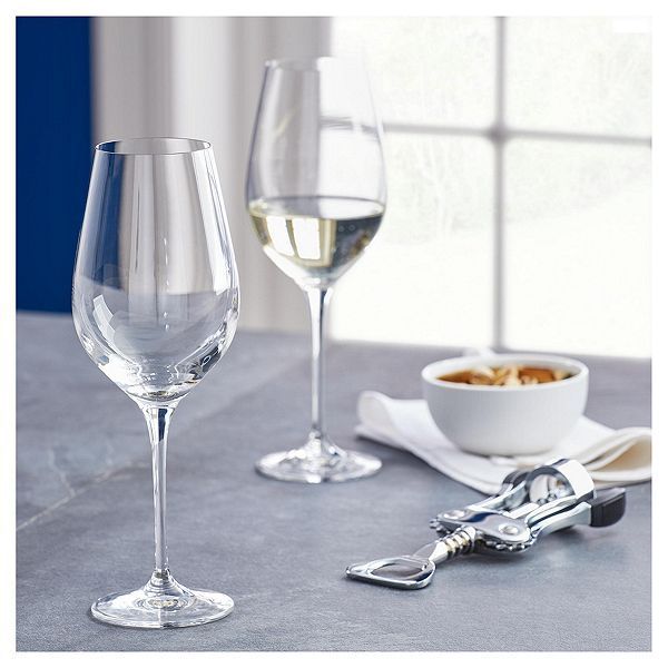 Fox Ivy Crystal Glass Pack Of 4 White Wine Glasses White Wine Glasses Wine Glasses Tableware