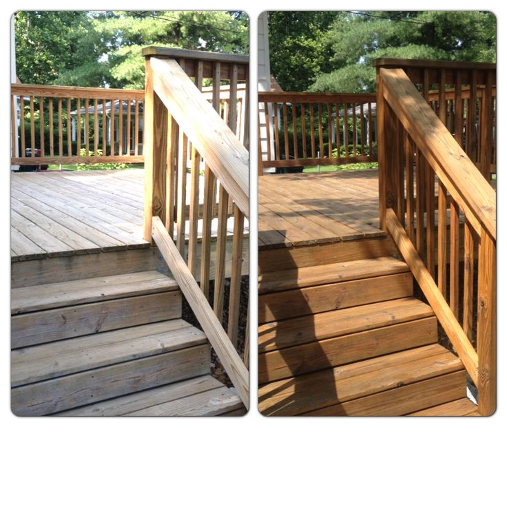 Sherwin-Williams Deckscapes cedar oil-based deck stain/toner.
