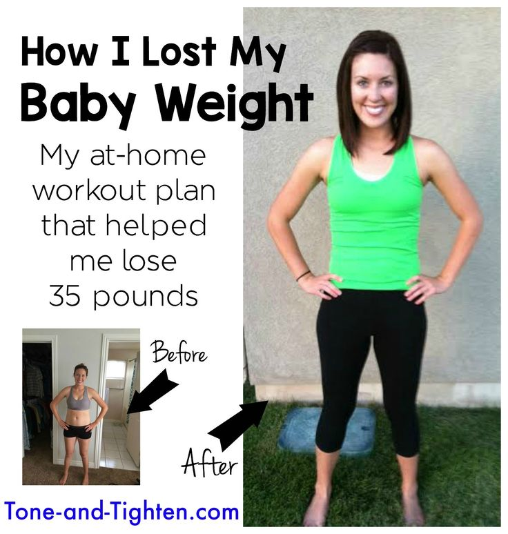 Advanced 8 Week Workout Plan on Tone-and-Tighten.com - over 75 different workouts that can all be done at home! Perfect for moms!