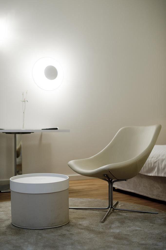 White desgined chair