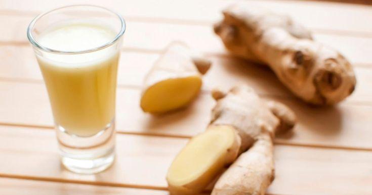 Av ingefära, äpplen och citroner kan du lätt mixa ihop en härlig hälsodryck som får fart på immunförsvaret.