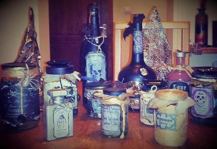 The Apothecary în premieră la Wonder Boutique! Halloween DIY jars!