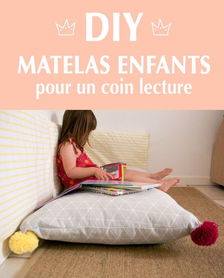 DIY : AMÉNAGER COIN LECTURE ENFANTS - Aux petites merveilles