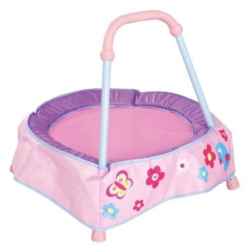[HSB Bundle+] Chad Valley Baby Trampoline - Pink with Accompanying Pack of 10 Child Safety Door Stoppers High Street Brands http://www.amazon.co.uk/dp/B00BSWL0LM/ref=cm_sw_r_pi_dp_m6Y7vb1ZAFWG0