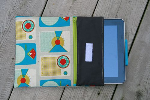 Great iPad Case Tutorial - lots of pictures