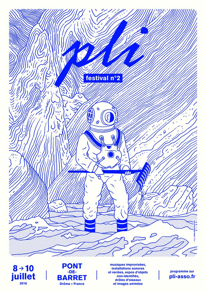 Editorial & Poster: PLI • Improvised Music & Funny Birds