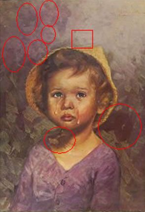 Análise dos Quadros das Crianças Chorando | Sobrenatural.org