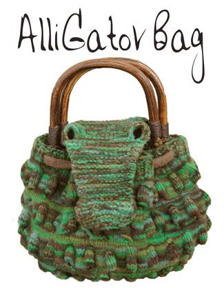 I would really like to knit this alligator bag knit kit! I've made the dragon scarf from one of their knit kits and loved it. They have such cute stuff!