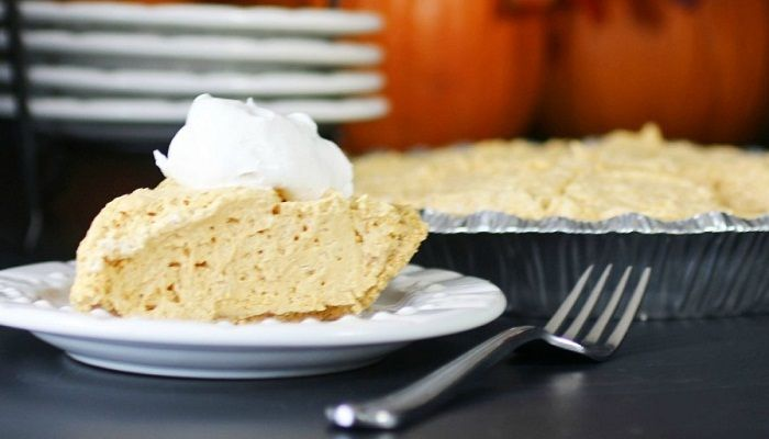 This Sugar Free Pumpkin Pie recipe is simple and easy to make. In fact, it is a no bake dessert that is very healthy, tasty and sugar free too.